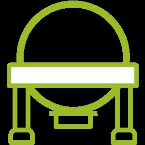 Icône personnalisée d'un bassin de stockage