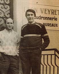 Photographie de M. Sylvain et M. Antoine Calvano à la tête de l'entreprise Léon Veyret