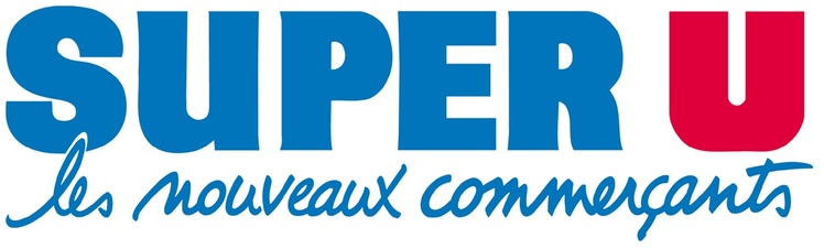 Logo couleur de Super U, les nouveaux commerçants