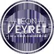 Logo Léon Veyret Chaudronnerie en version blanche