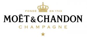 Logo Moët & Chandon champagne depuis 1743