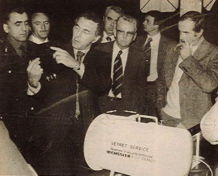 Vieille photo de l'entreprise Leon Veyret de 1965